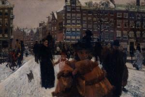 George_Hendrik_Breitner_-_De_Singelbrug_bij_de_Paleisstraat_te_Amsterdam