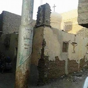 Easter under Islam, churches under attack